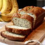 Pan de Plátanos con Nueces sin Azúcar – Receta de Comida para Diabéticos Fácil