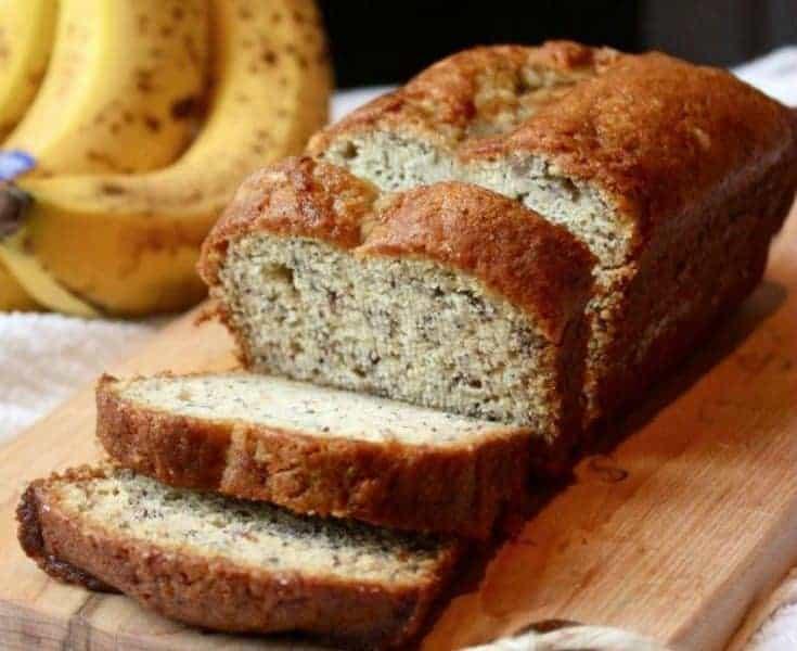 Pan de platano receta para diabéticos