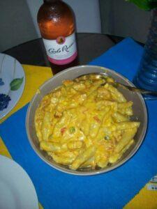 domplines ahogados en queso
