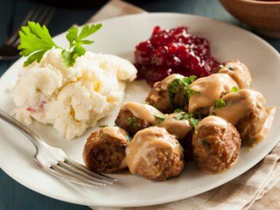 receta de albóndigas suecas