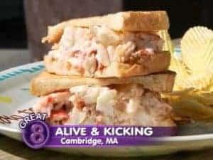 Alive & Kicking Lobsters
